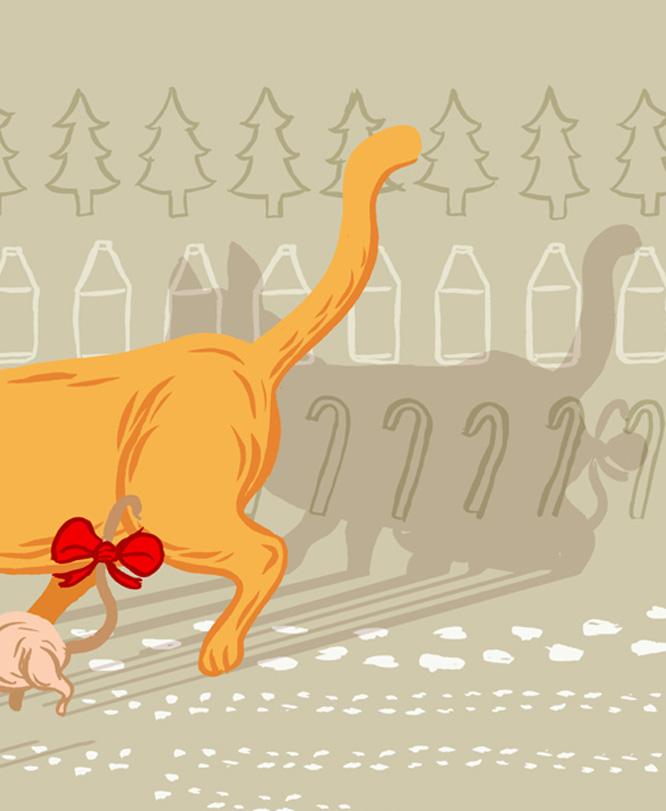 Benjamin Wright's Christmas illustration